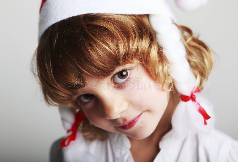 Bożenarodzeniowy dziecko obraz royalty free