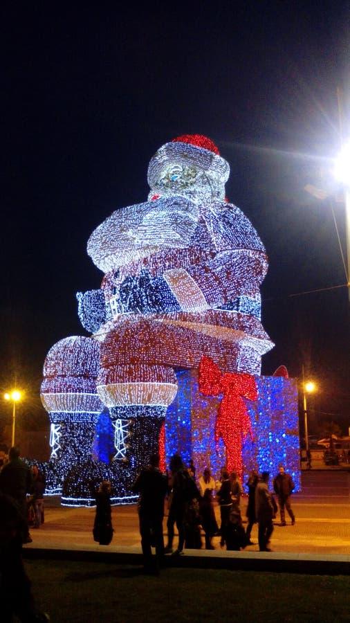 Bożenarodzeniowy gigant Santa obraz royalty free