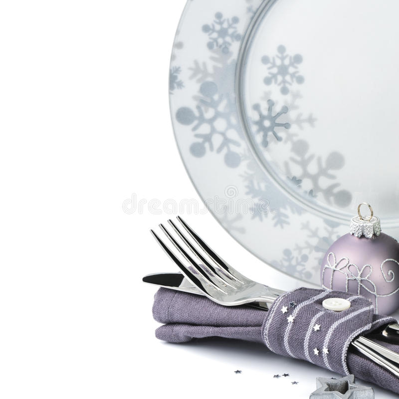 Bożenarodzeniowy menu pojęcie odizolowywający nad bielem zdjęcie royalty free