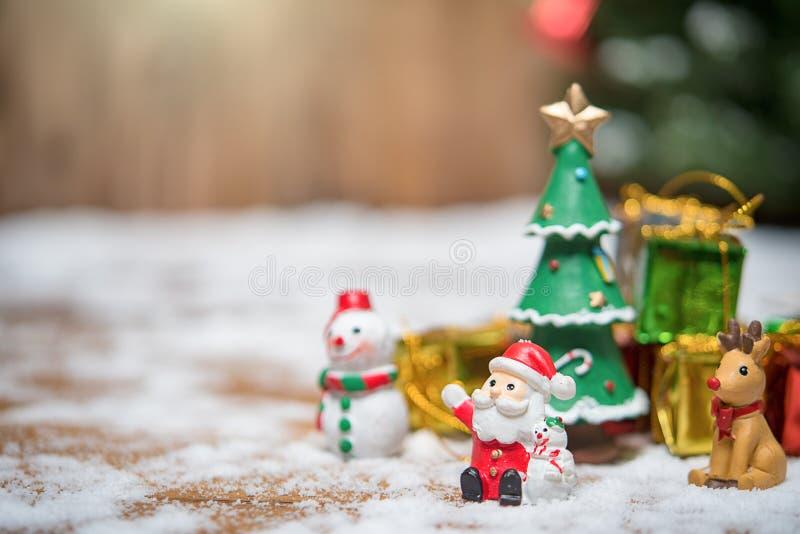 Bożenarodzeniowy miś pluszowy Santa Claus obrazy royalty free
