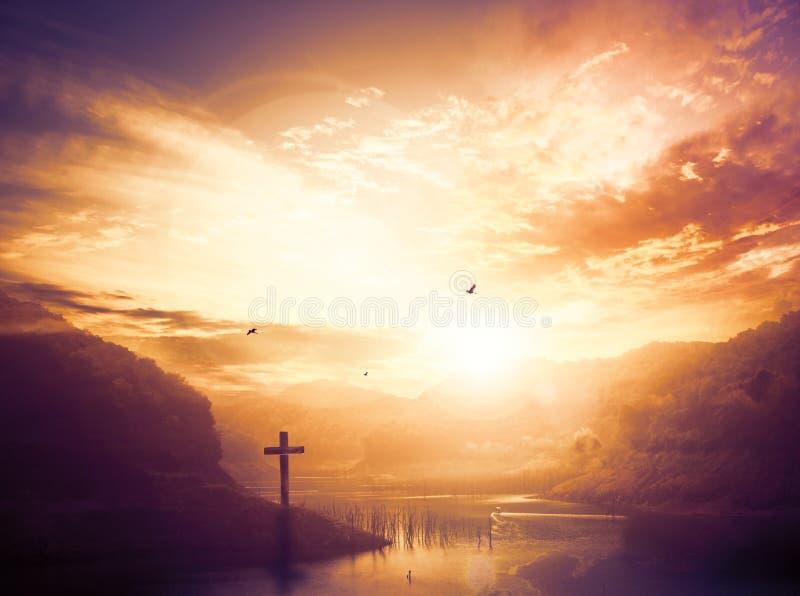 Bożenarodzeniowy pojęcie: cześć i pochwały bóg obrazy stock