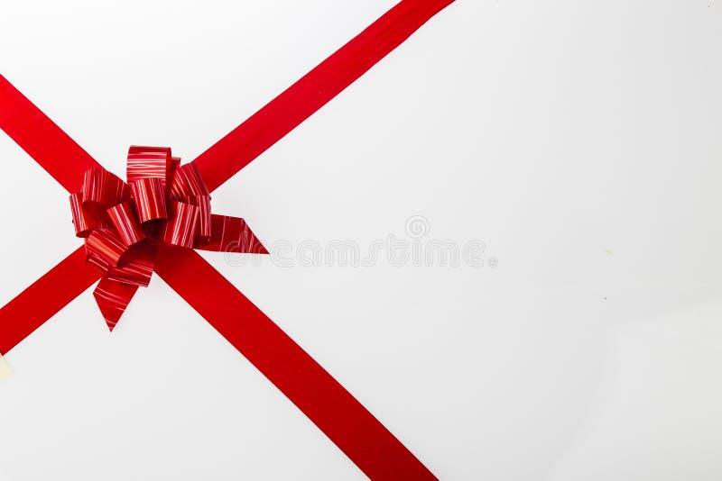 Bożenarodzeniowy prezent na białym tle II fotografia royalty free