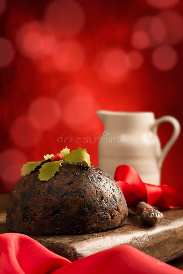 Bożenarodzeniowy Pudding zdjęcia stock