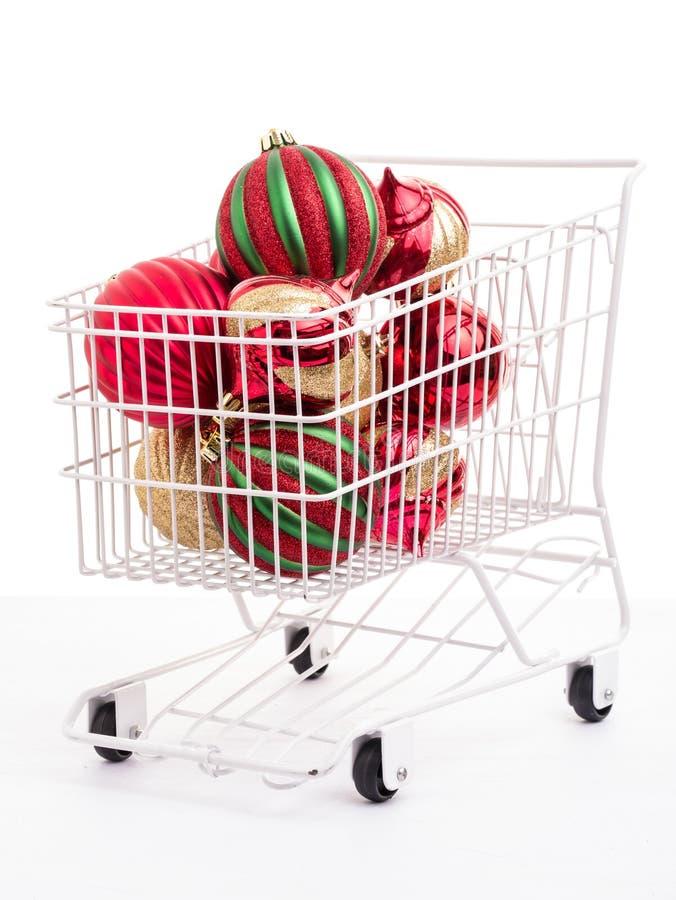 Bożenarodzeniowy Zakupy zdjęcie stock