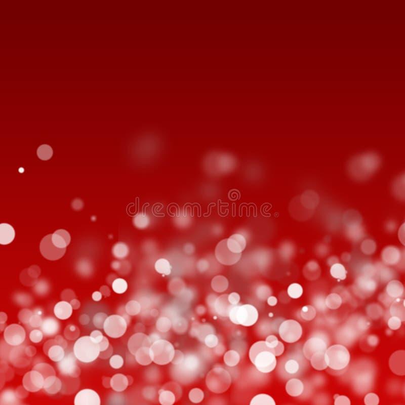 bożonarodzeniowe światła biały zdjęcie stock