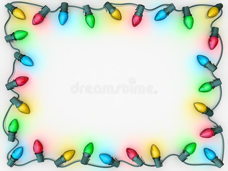 Bożonarodzeniowe Światła Granica