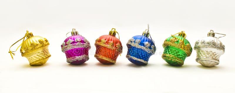 Bożych Narodzeń 6 zabawek zdjęcia stock