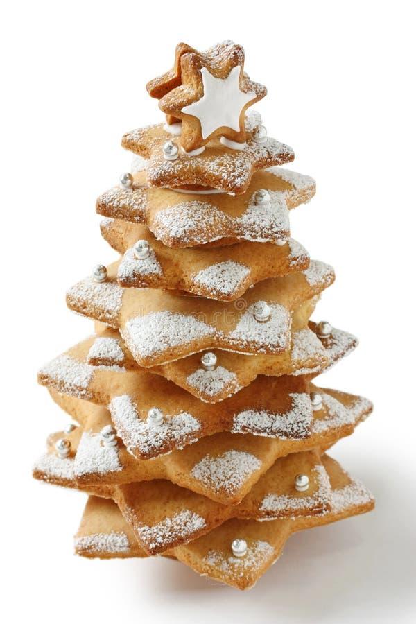 bożych narodzeń ciastka drzewo zdjęcia stock