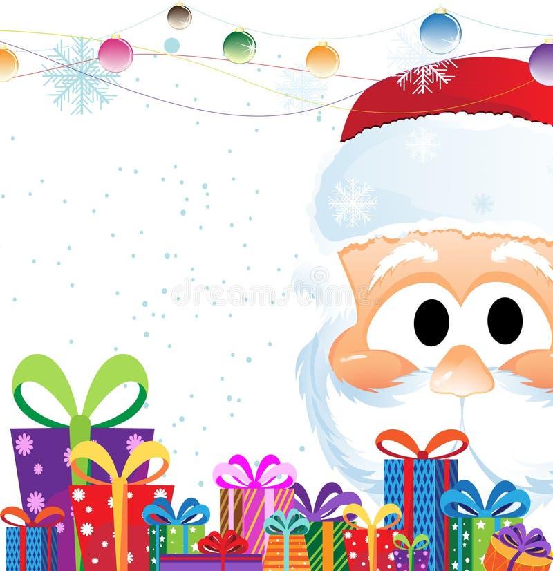 bożych narodzeń Claus prezenty Santa ilustracji