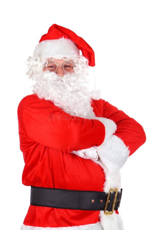 bożych narodzeń Claus Santa biel obraz royalty free