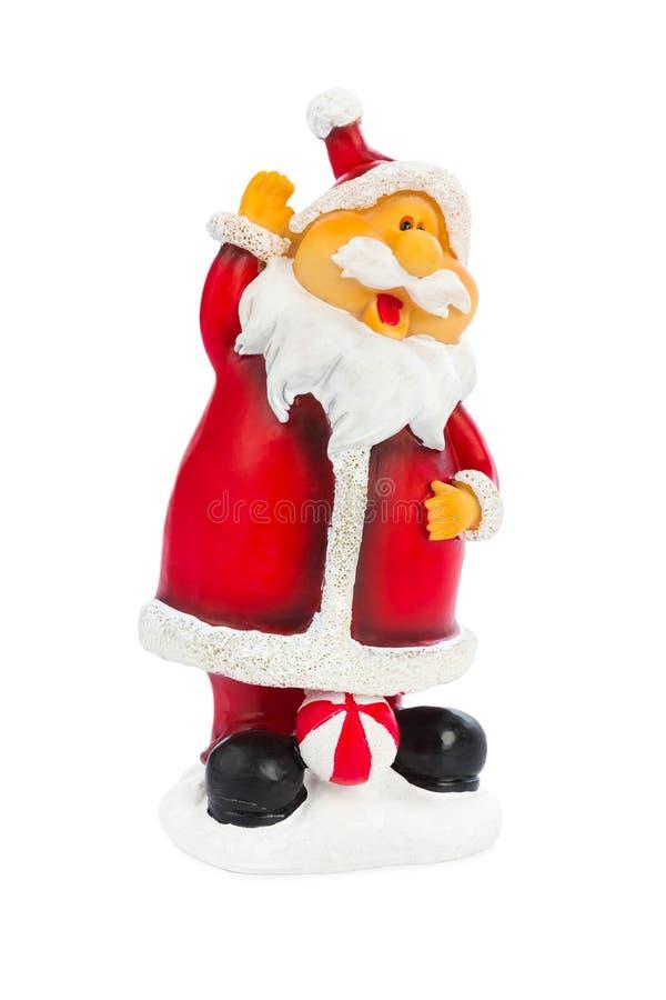 bożych narodzeń Claus Santa zabawka zdjęcie royalty free