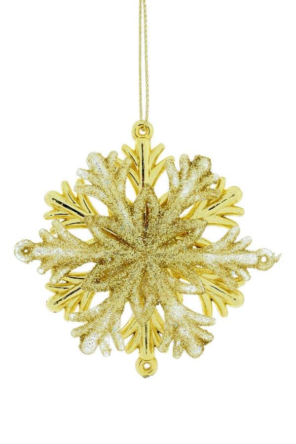 bożych narodzeń dekoraci płatek śniegu zdjęcie royalty free