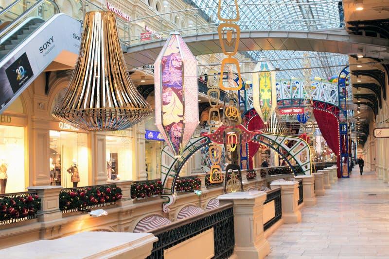 bożych narodzeń dekoraci sklep zdjęcie royalty free