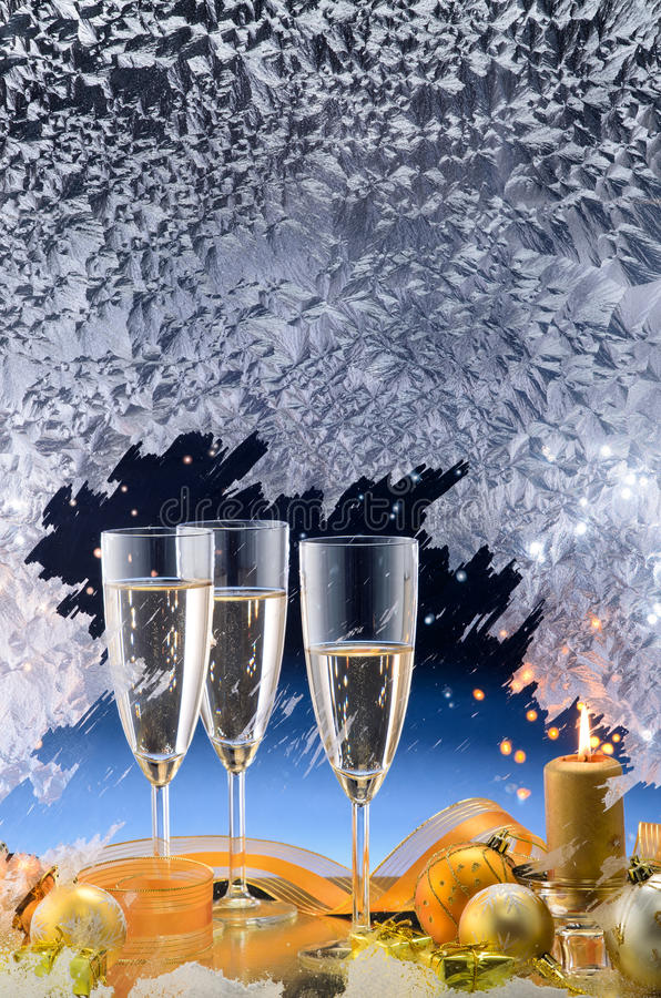 bożych narodzeń dekoracja okno zdjęcia royalty free