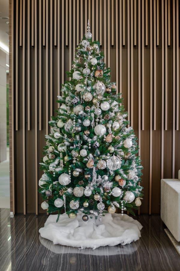 Bożych Narodzeń i nowy rok kwiatów skład obraz stock