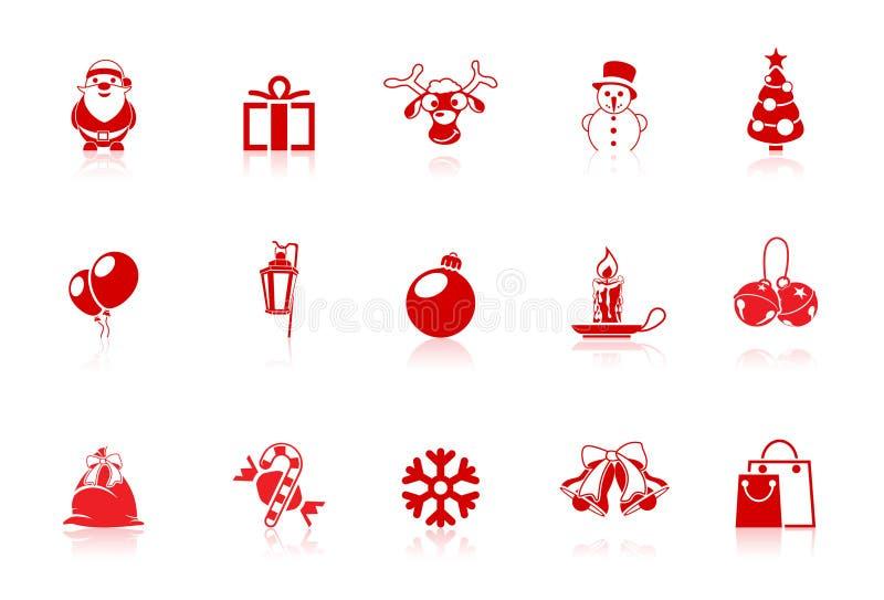 bożych narodzeń ikon flecika serie ilustracji