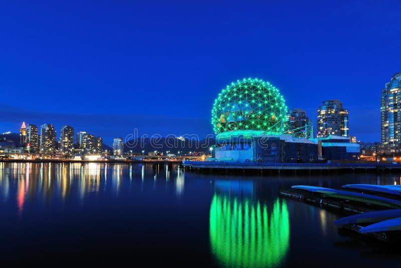 bożych narodzeń nauki czas Vancouver świat fotografia stock