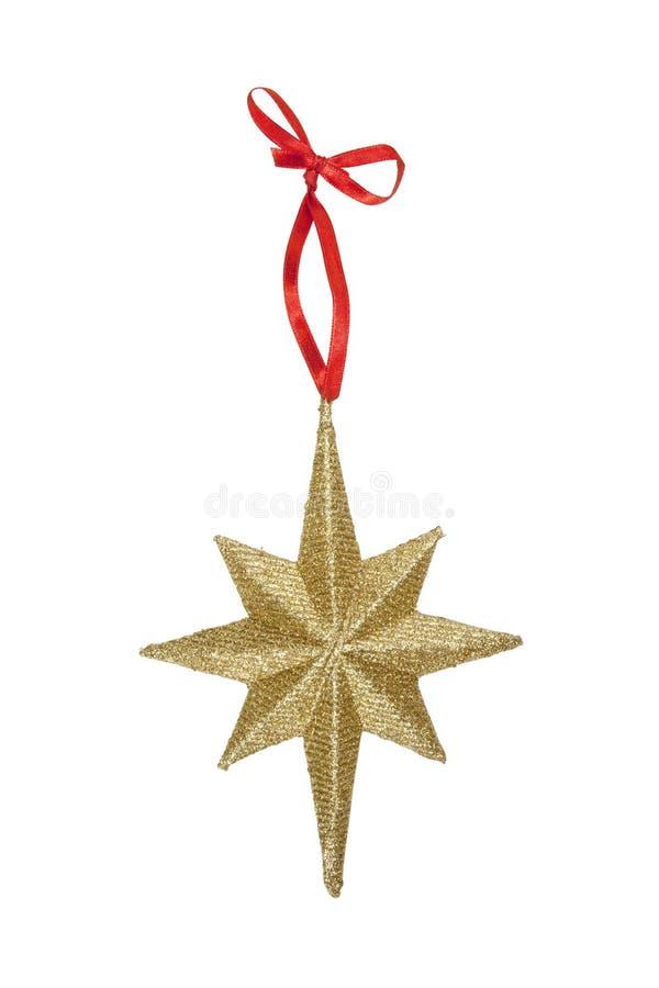 bożych narodzeń ornamentu gwiazda zdjęcie stock