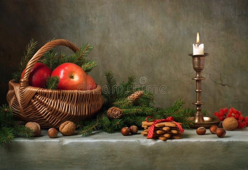 Bożych Narodzeń wciąż życie obrazy royalty free