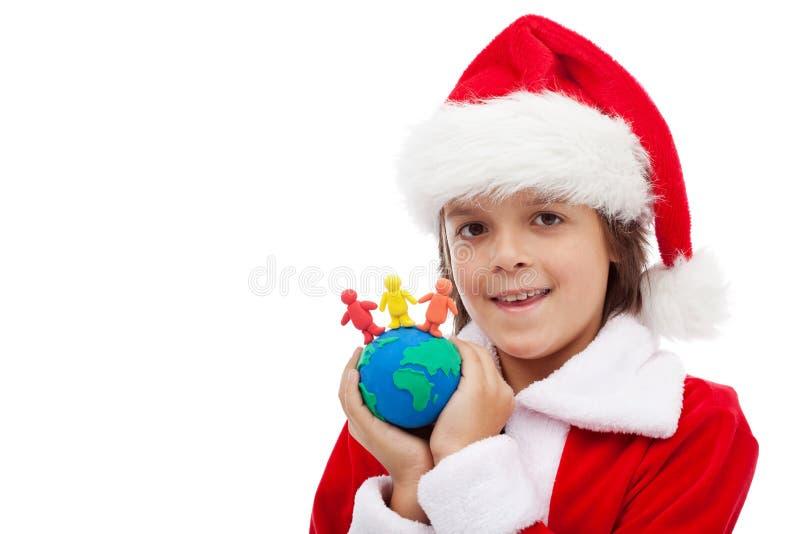 Bożych Narodzeń wpólnie pojęcie obraz royalty free