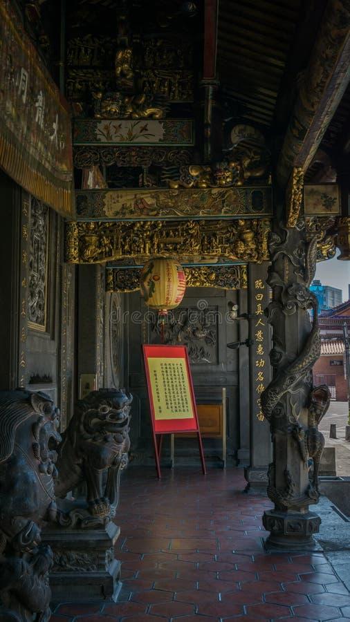 bo świątyni dach Detail_3 zdjęcia stock