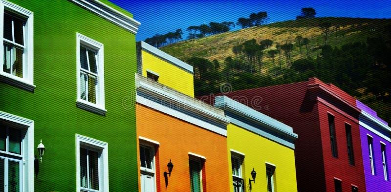BO colorida Kaap fotografía de archivo libre de regalías