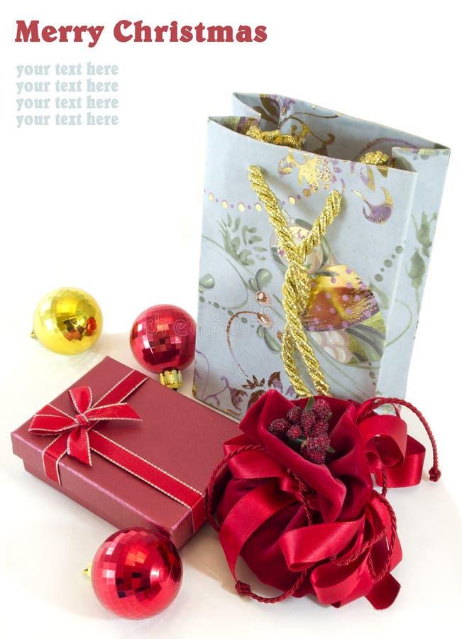 Download Boże narodzenie prezenty obraz stock. Obraz złożonej z wciąż - 21311761