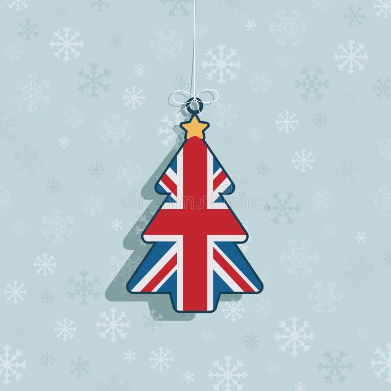 Boże Narodzenie UK Dekoracja Zdjęcie Royalty Free