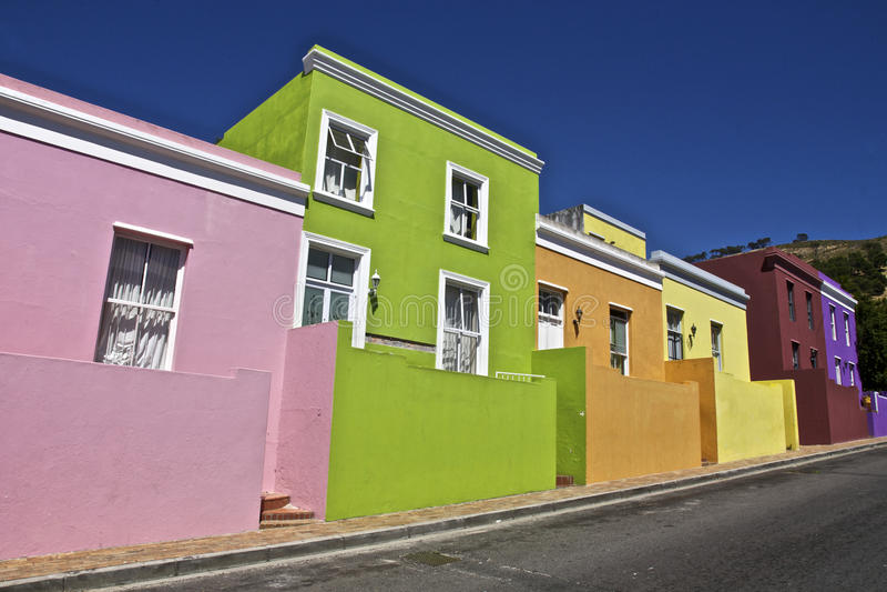 BO Kaap royalty-vrije stock afbeeldingen