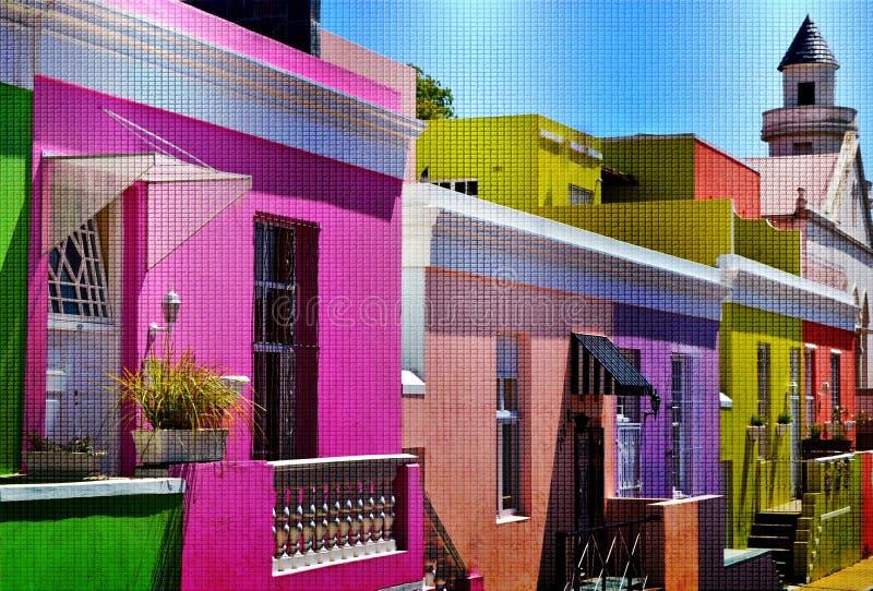 BO Kaap Cape Town fotos de archivo