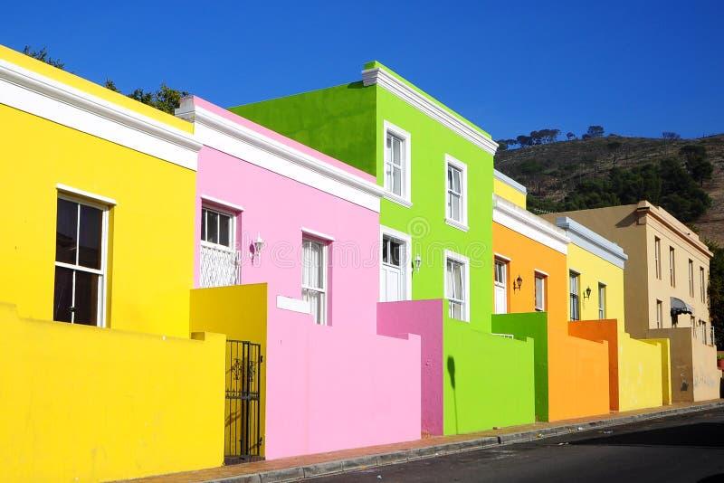 BO-Kaap, cuarto del Malay, Ciudad del Cabo imagen de archivo libre de regalías