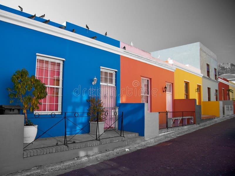 BO-Kaap district, Capetown, Afrique du Sud image stock