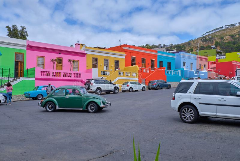 BO Kaap, Kapstadt lizenzfreies stockfoto