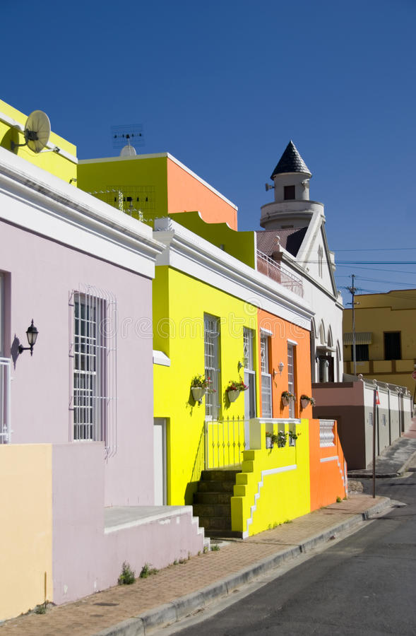 Free Bo Kaap Street, Cape Town Stock Images - 13981574