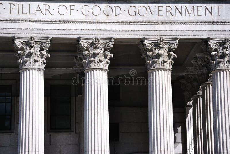 Boa casa de corte do governo fotografia de stock