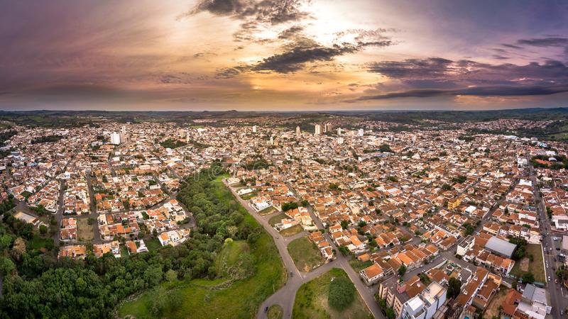Boa João DA São Vista εικονική παράσταση πόλης στοκ εικόνες