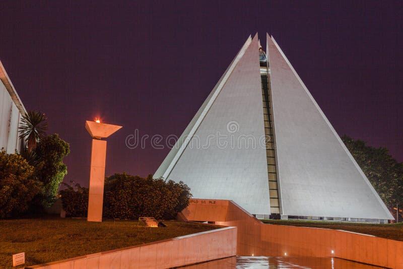 Boa Legiao DA Vontade-Tempel Brasilien lizenzfreies stockbild