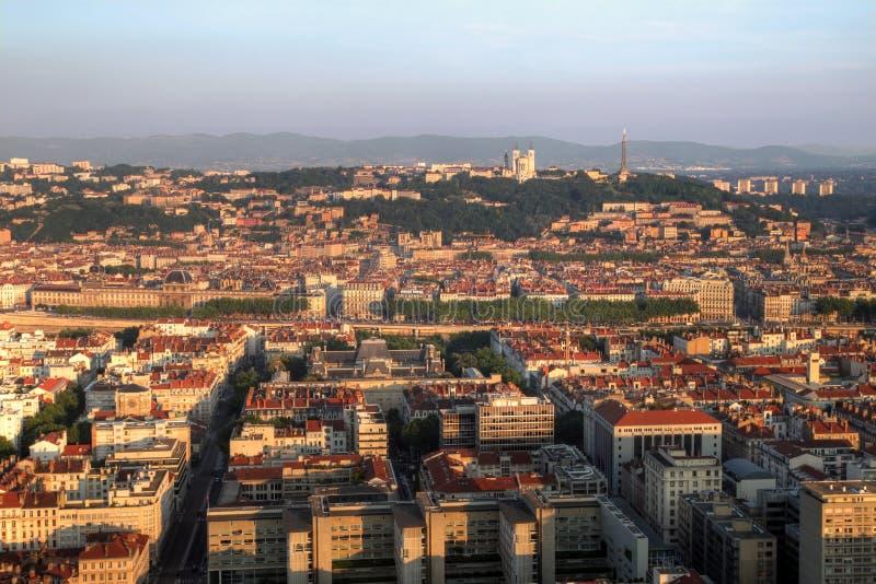 Boa manhã Lyon! foto de stock