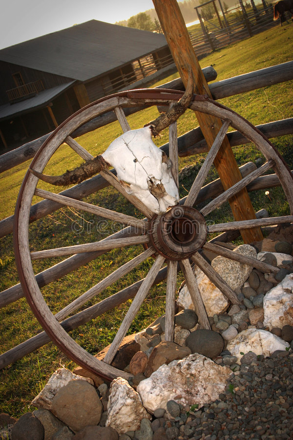 Boa vinda ao rancho fotografia de stock royalty free