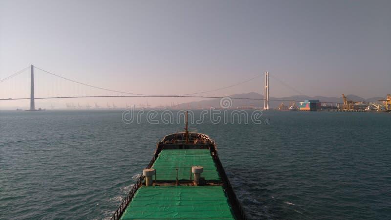 Boa vinda a Coreia do Sul E foto de stock royalty free
