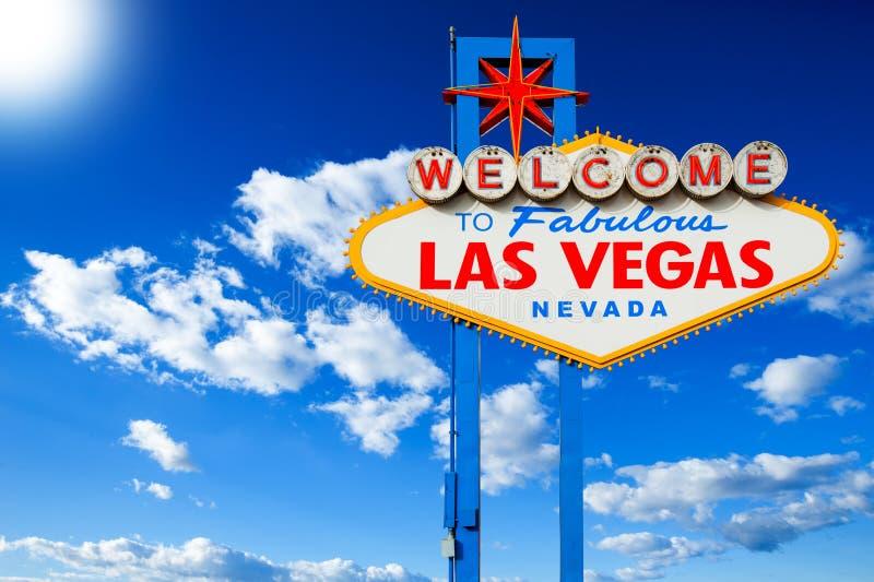 Boa vinda a Las Vegas fotos de stock royalty free