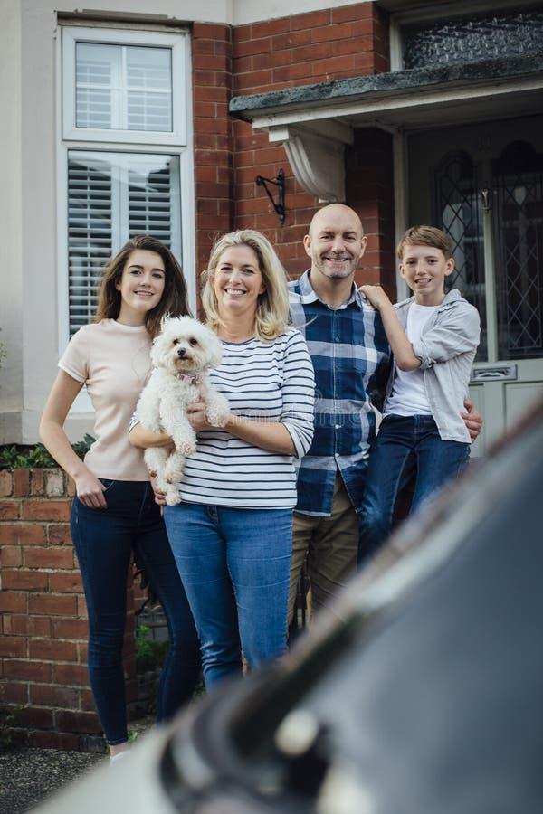 Boa vinda a nossa HOME nova foto de stock royalty free