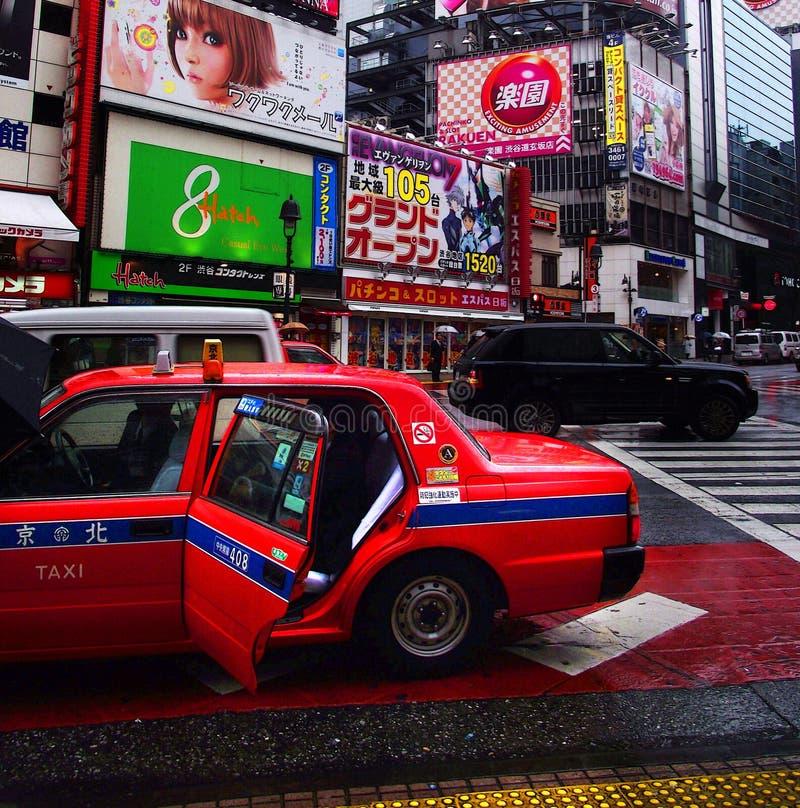 Boa vinda a Shibuya imagem de stock royalty free