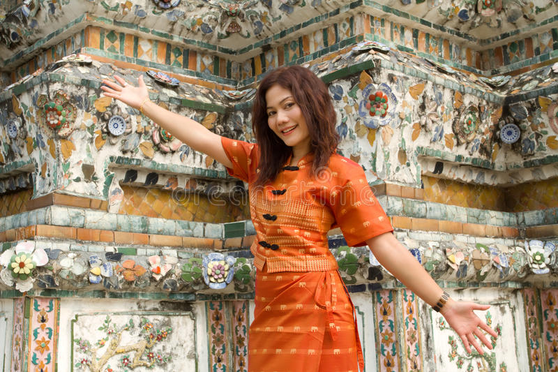 Boa vinda a Tailândia foto de stock royalty free