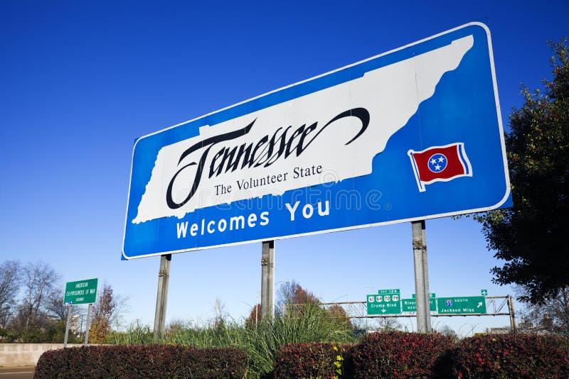 Boa vinda a Tennessee foto de stock royalty free