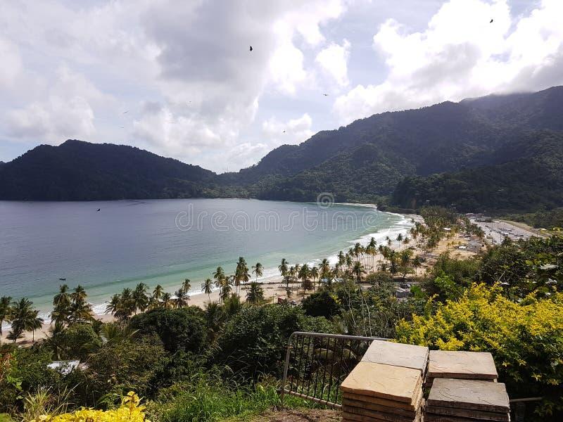Boa vinda a Trindade e Tobago fotografia de stock royalty free