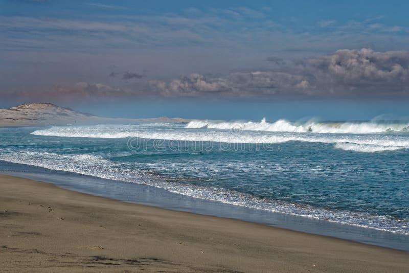 Boa Vista de la isla en Cabo Verde, paisaje - playa foto de archivo
