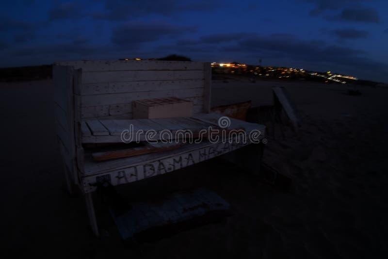 Boa Vista de la isla en Cabo Verde, paisaje - playa imágenes de archivo libres de regalías