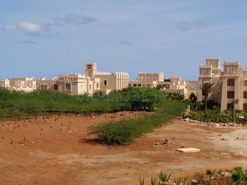 Boa Vista, view from the room stock images