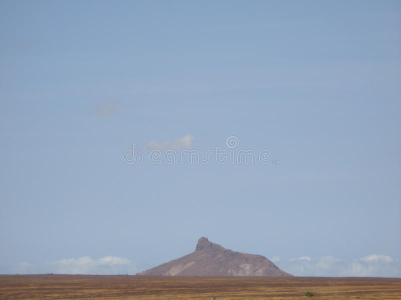 Boa Vista, view from the room stock photo